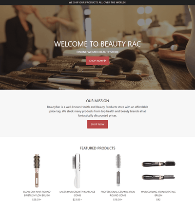BeautyRac ( Beauty Accessories Store)