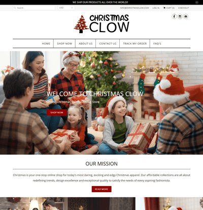 ChristmasClow ( Christmas Family Apparel)