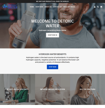 DetoxicWater ( One Product Store)