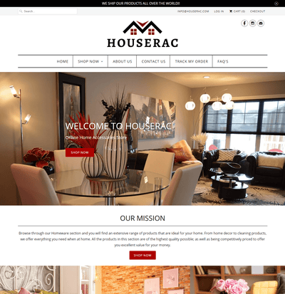 Houserac ( Home Accessories Store)