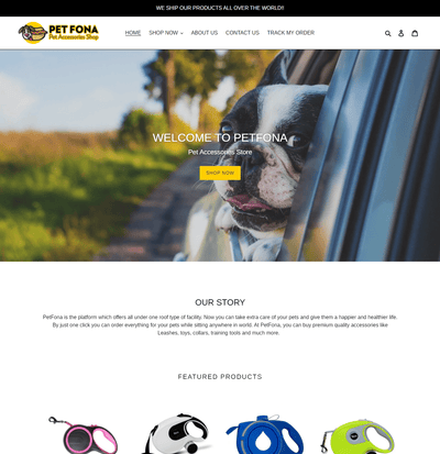 PetFona ( Pet Accessories Store)