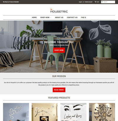HouseTric ( Home Accessories Store)