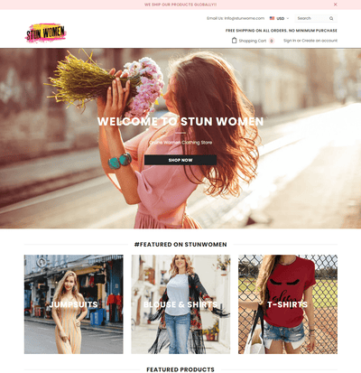 StunWomen ( Women Clothing Store)