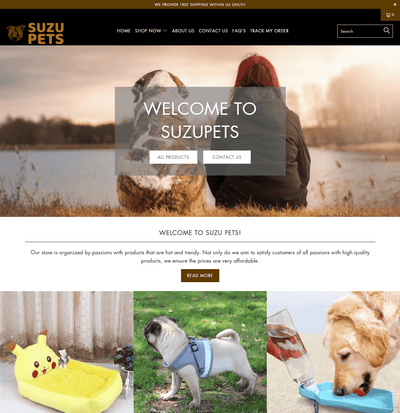SuzuPets ( Pet Accessories Store)