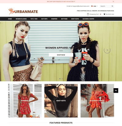 UrbanMate (Women Apparel Store)