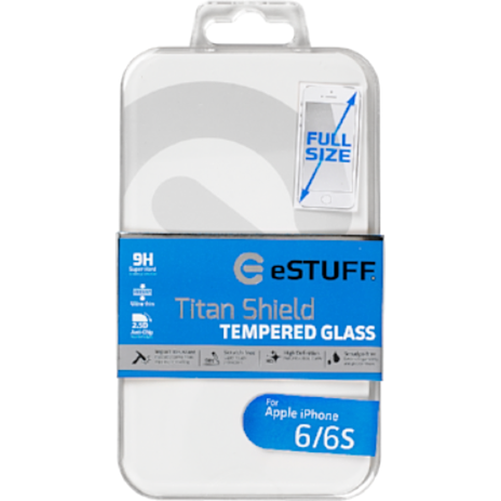 eSTUFF Apple iPhone 6/6S Full Cover White-Handle It Online Store