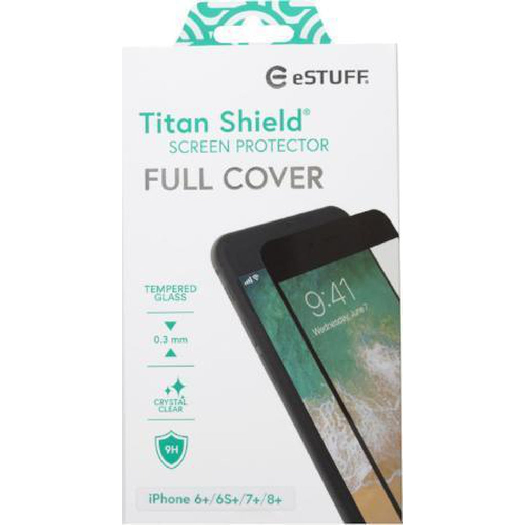 eSTUFF Apple iPhone 6+/6S+/7+/8+ Full Cover Black-Handle It Online Store