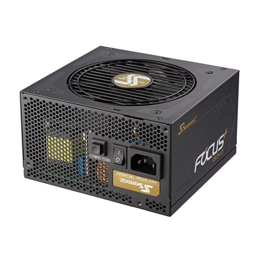 Seasonic 850W FOCUS+ 850 Gold, modulaarinen ATX-virtalähde, 80Plus Gold - - Handle I.T. Oy