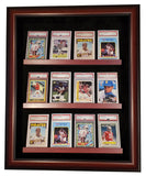 NEW~12 Graded Card Display Case