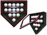 14 Baseball Homeplate Shaped Display Case