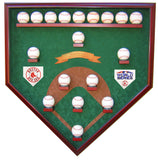 18 Baseball Boston Red Sox 2018 World Series Homeplate Shaped Display Case