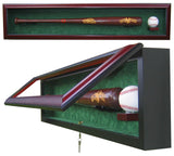 1 Baseball Bat with 1  Baseball Display Case