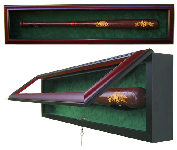 1 Baseball Bat Display Case