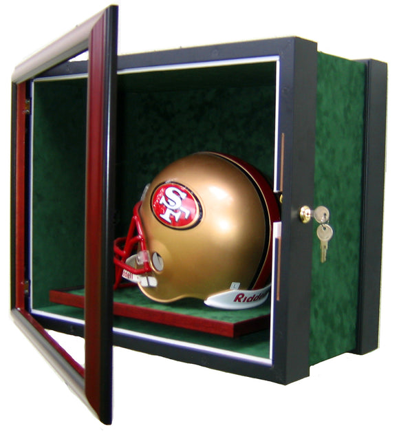 1 Full Size Football Helmet Display Case
