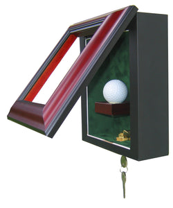 1 Golf Ball Display Case