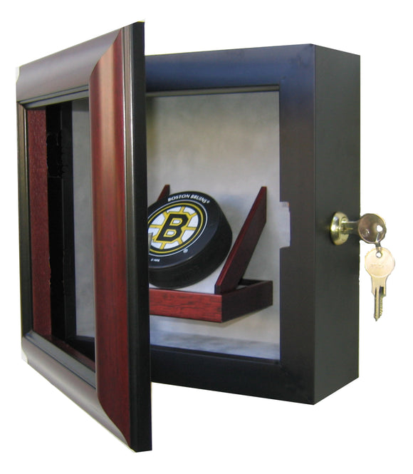 1 Hockey Puck Display Case