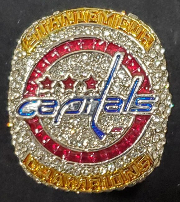 Washington Capitals 2018 Stanley Cup Champions Replica Ring