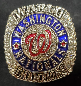 Washington Nationals 2019 World Series Fan Version Replica Ring