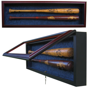 2 Baseball Bat Display Case