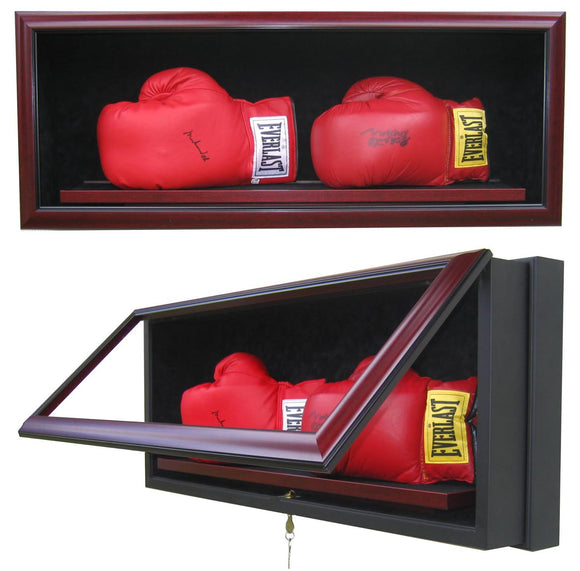 2 Boxing Glove Display Case