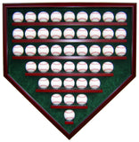 43 Baseball Homeplate Shaped Display Case