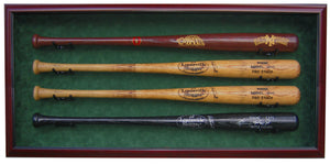 4 Baseball Bat Display Case