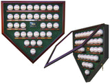 500 Home Run Club Baseball Homeplate Shaped Display Case