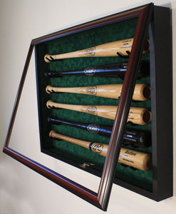 6 Baseball Bat Display Case