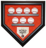 7 Baseball Houston Astros 2017 World Series Homeplate Shaped Display Case
