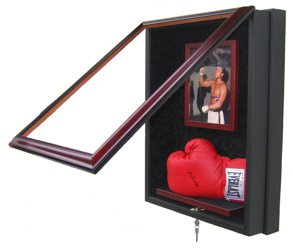 1 Boxing Glove with 8x10 Photo Display Case