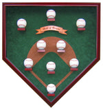 "My Field of Dreams ""Vintage Edition"" Homeplate Shaped Display Case"