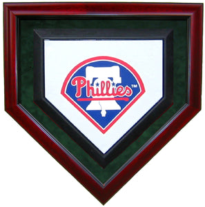 Full Size Homeplate Homeplate Shaped Display Case