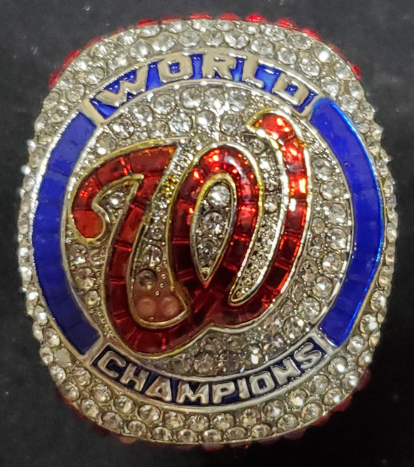Washington Nationals 2019 World Series Players Version Replica Ring