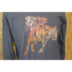 Bronco Hand Painted Comfort Long Sleeve