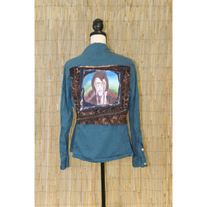 Elvis Painting Handmade Shirt