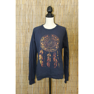 Dreamcatcher Hand Painted Raglan Sweatshirt