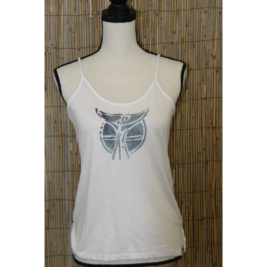 Whale Tale Hand Painted Women's Cami Tank