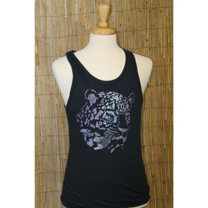 Jaguar Hand Painted Bamboo Men's Tank