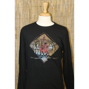 Ski Vail Hand Painted Bamboo Long Sleeve