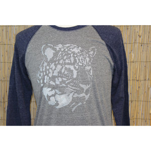 Jaguar Hand Painted 3/4 Sleeve Baseball Tee