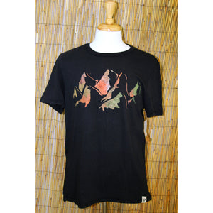 Mountain Hand Painted Bamboo Crew Neck Tee
