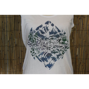 Maroon Bells Hand Painted Women's Cami Tank