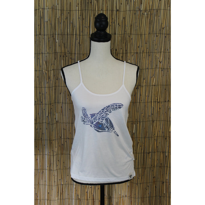 Turtle Hand Painted Women's Cami Tank