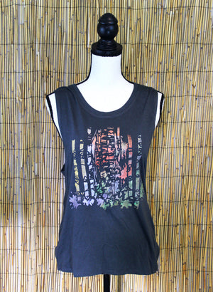 Aspen Grove Hand Painted Women's Muscle Tank