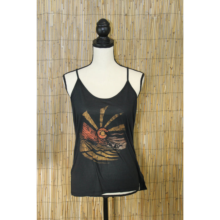 Red Rocks Hand Painted Women's Cami Tank