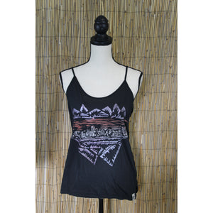Denver Skyline Hand Painted Women's Cami Tank