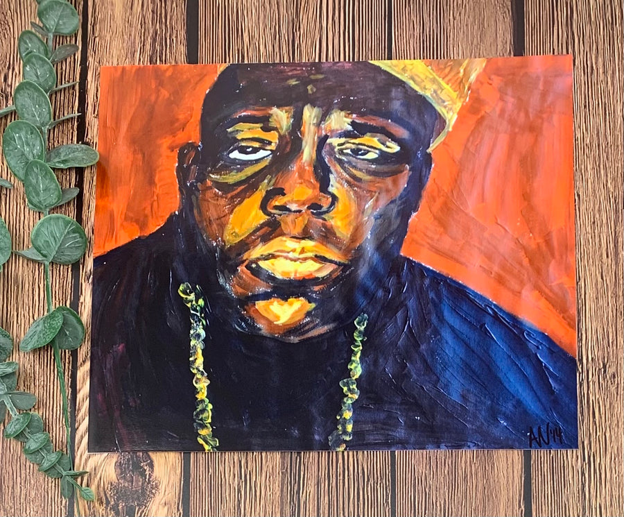 Original Biggie Print
