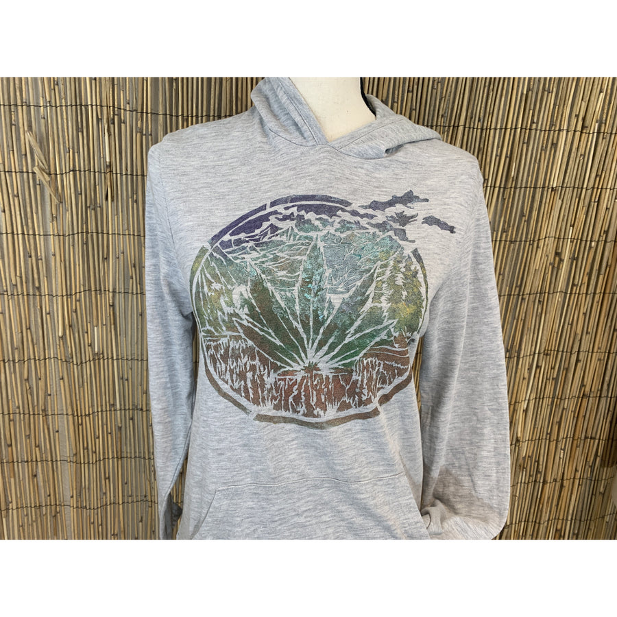 Four20 2020 Hand Painted Organic Hoodie Long Sleeve