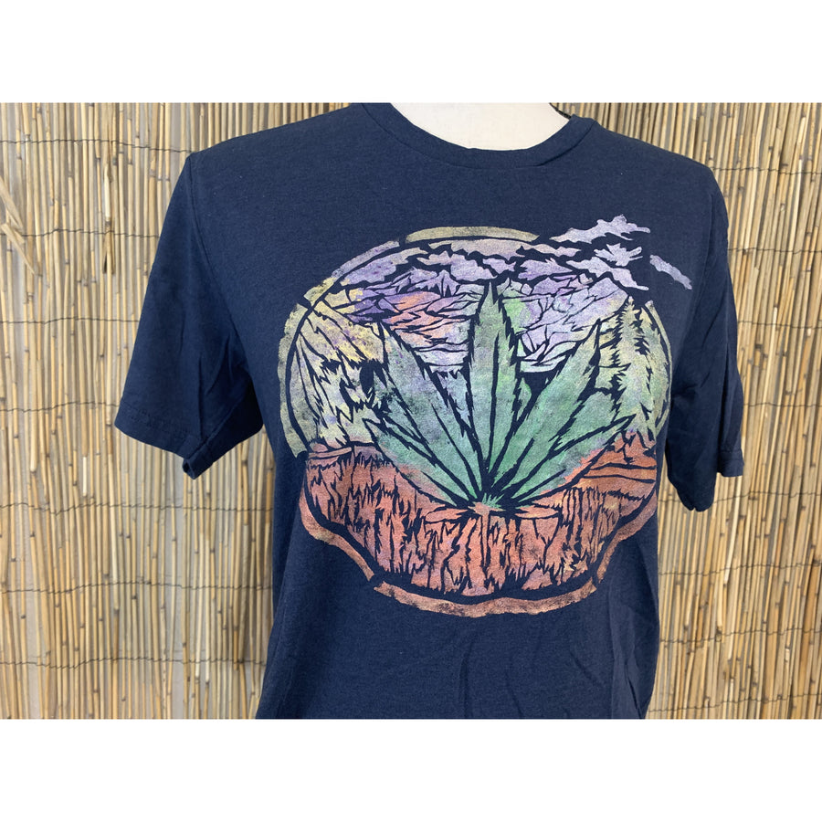 Four20 2020 Hand Painted Bamboo Crew Neck Tee