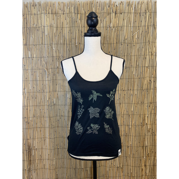 Culinary Herbs Hand Painted Women's Cami Tank